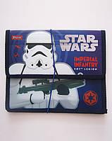 """Папка для тетрадей пласт. на резинке В5 """"Star wars"""""""