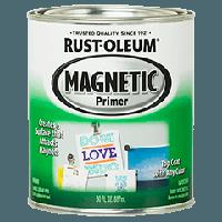 Магнитная краска - грунт для создания магнитной поверхности, тёмно-серая
