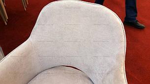 Кресло мягкое  Roli (Роли) MC - 16-2  Evrodim, обивка жаккард цвета карамель, фото 2