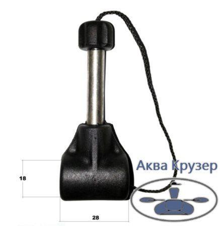 Карданное соединение под квадратную уключины в сборе купить в Киеве, Харькове, Днепре и в Украине