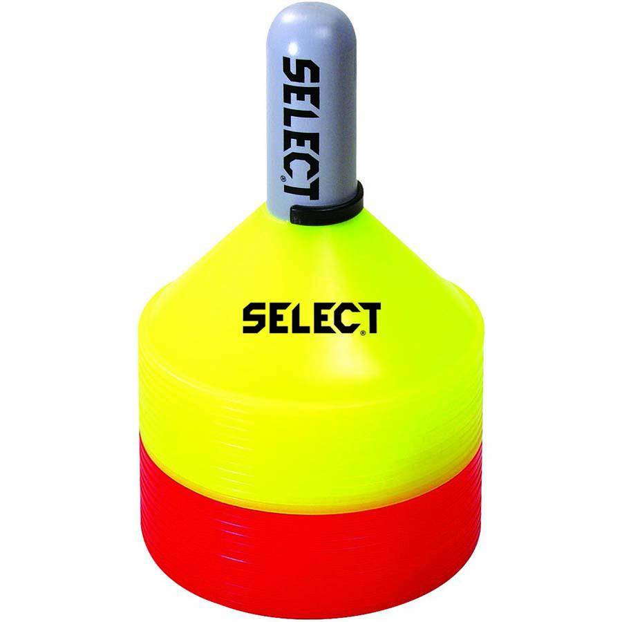 Набор маркеров SELECT MARKER SET 24 шт (231) желт/красн, 7 см