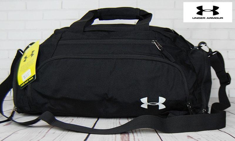 Сумка-рюкзак. Сумка Under Armour. Дорожная сумка. Сумка в спортзал. Стильные спортивные сумки.