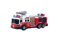 Музыкальная пожарная машина sd-012d 3d свет