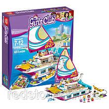 Конструктор  Lepin Girls Club 01038 (Lego Friends 41317) Катамаран ¨Саншайн¨ 651 дет