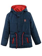 Детская демисезонная куртка на мальчика в расцветках, р.122,128, фото 2