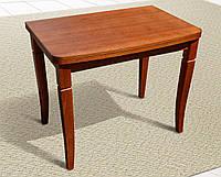 """Стол обеденный """"Эрика"""" раскладной 600 х 900 мм. цвет коньяк."""