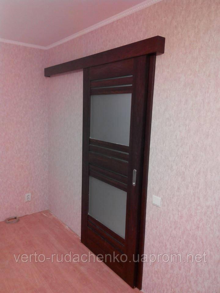 """Двери Verto Лада 7.2 в цвете Вишня """"Резист"""""""