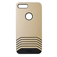 TPU Remax Saman Series Case for iPhone 7+ Gold