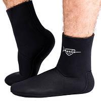Носки Marlin ANATOMIC, 5 mm, черные, неопреновые, оригинал, новые.