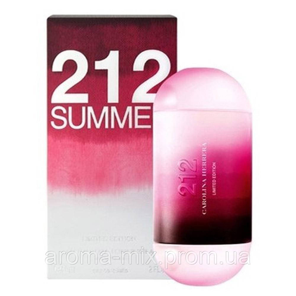 Carolina Herrera 212 Summer For Women - женская туалетная вода
