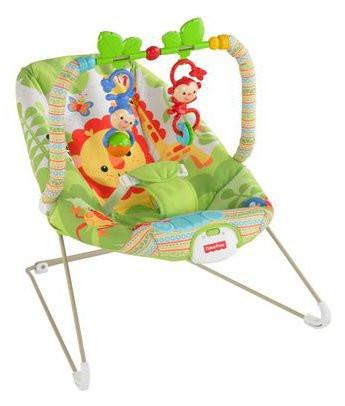 Кресло Качалка детское Fisher Price BCG47