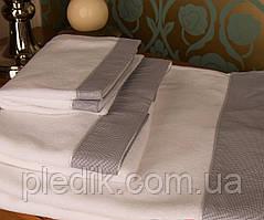 Набор махровых полотенец MARK 3шт. белый