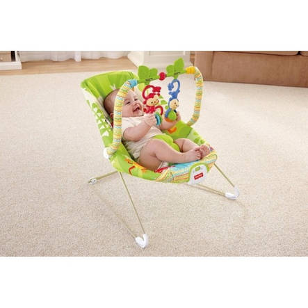 Кресло Качалка детское Fisher Price BCG47, фото 2