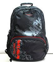 Рюкзак ортопедический (ранец, портфель) Z009L, красно-черный, L, Д Kong