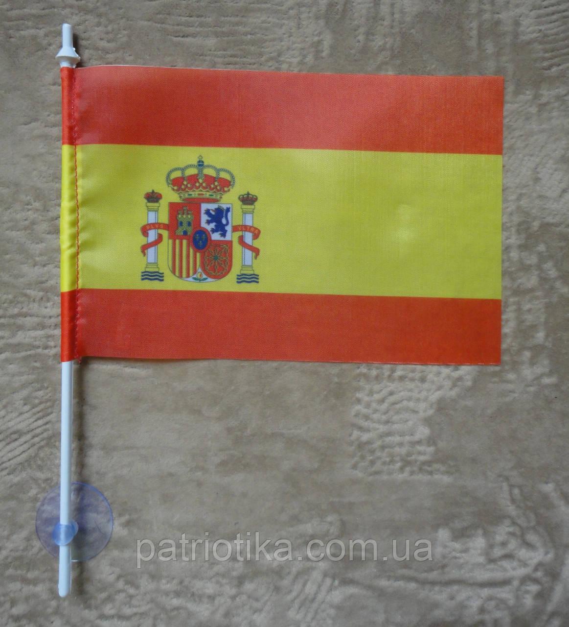 Флажок Испании | Прапорець Іспанії 10х15 см полиэстер