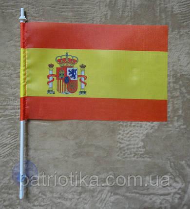 Флажок Испании | Прапорець Іспанії 10х15 см полиэстер, фото 2