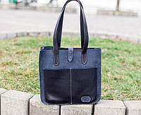 Женская кожаная сумка ручной работы Милан, Sharky Friends