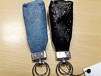 Кожаная ключница для длинного ключа  великолепного качества и очень красивая