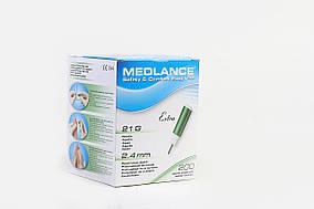 Ланцет (скарификатор) автоматический Medlance Extra (зеленый)