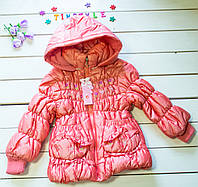 Куртка-пальтишко демисезон  на девочку  (рост 92-98 см)