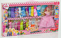 Кукла с нарядом одежды.Игровой набор для девочек.Детская игрушка кукла.