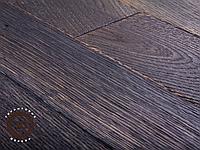 Паркет из ореха пропаренного штучный (палубный набор) сорт Натур
