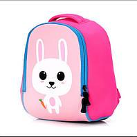 """Детский неопреновый рюкзак """"Розовый зайка"""""""