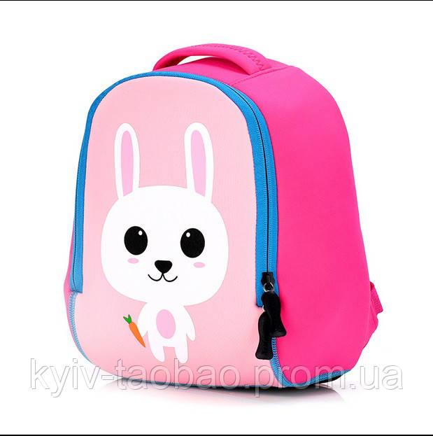 """Детский неопреновый рюкзак """"Розовый зайка"""" розовый зайка"""