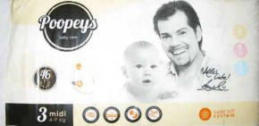 Подгузники Poopeys 3, 48 шт