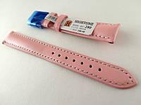 Ремінець Hightone, шкіряний, анти-алергенний, рожевий, фото 1