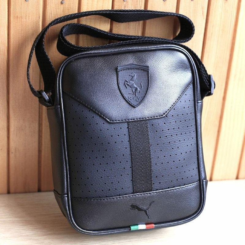 cf3dd3ab78ce сумка мужская Puma Ferrari D2974 черная купить по лучшей цене от