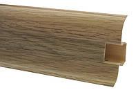 Плинтус 60 мм дуб сицилийский