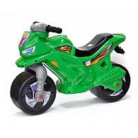 """Каталка-мотоцикл 501 """"Orion"""" 2-х колесный,зеленый"""