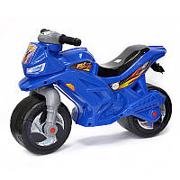 "Каталка-мотоцикл 501 ""Orion"" 2-х колесный,синий"