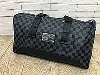 Сумка Louis Vuitton D2970 серо-черная