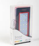 Мобильный power bank 36000mAh c зарядкой от солнечной батареи, светильник, 3xUSB, фото 8