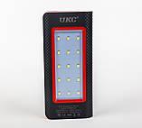 Мобильный power bank 36000mAh c зарядкой от солнечной батареи, светильник, 3xUSB, фото 4