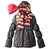 Деми куртка с шарфом и шапкой Pink Platinum (США); 4 года