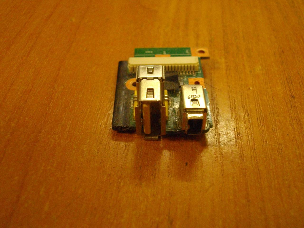 Плата 63Y2122 с USB портом Lenovo ThinkPad T410