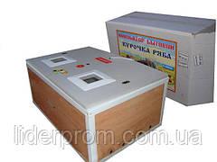 Инкубатор Курочка Ряба ИБ-130 механический переворот 130 яиц в пластике