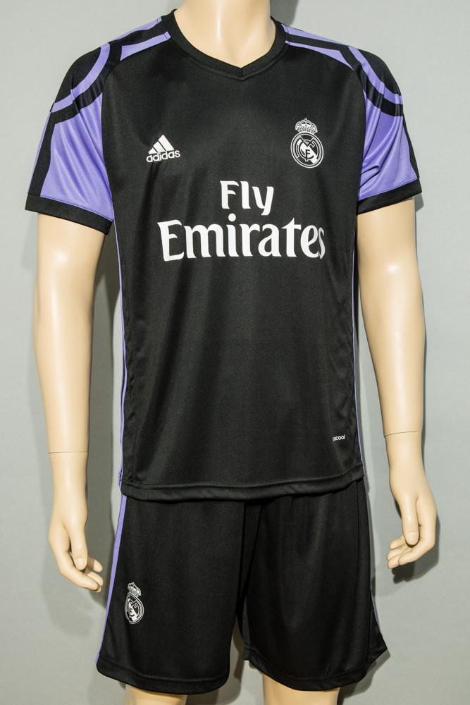 Футбольная форма Реал Мадрид Роналдо 2016-2017(Real Madrid Ronaldo) запасная (реплика)