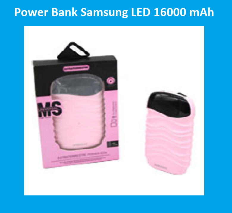Power Bank Samsung Повер Банк LED 16000 mAh