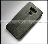 Классический чехол книжка Mofi Vintage для Asus Zenfone 3 Max ZC553Kl X00dd серый, фото 2