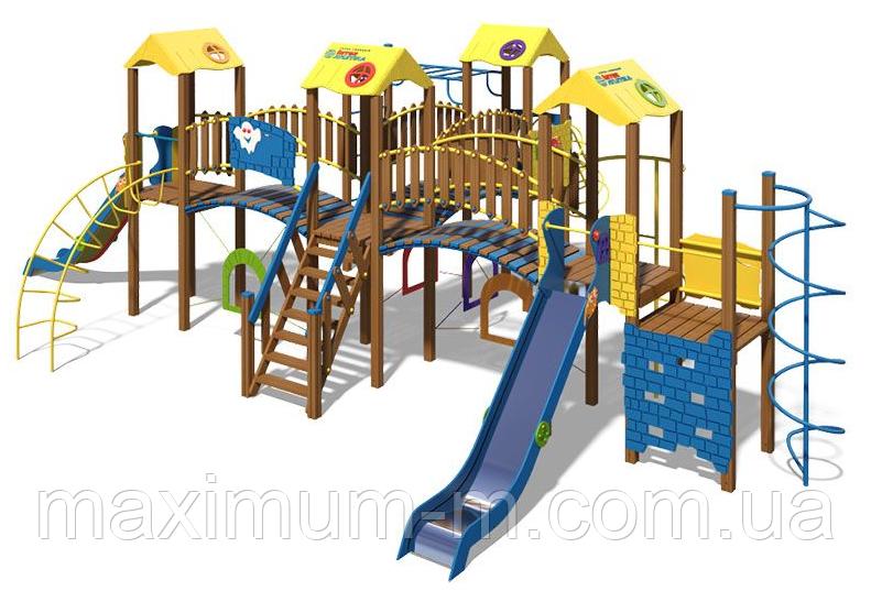 """Игровой комплекс для детей """"Крепость NEW"""""""