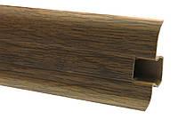 Плинтус 60 мм дуб рустикальный