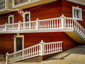 Балясины Умань   Балюстрада бетонная в Умани и Черкасской области 8