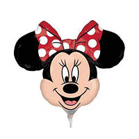 Шар воздушный Minnie голова 25 см