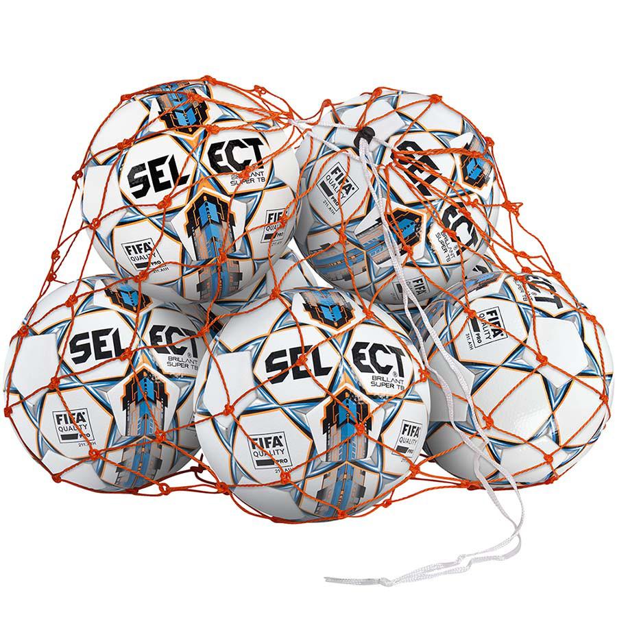Сітка для футбольних м'ячів SELECT на 10-12 м'ячів