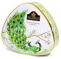 Чай зеленый Zylanica Ceylon Peacock Green Зеленый Павлин 100г ж/б., фото 1
