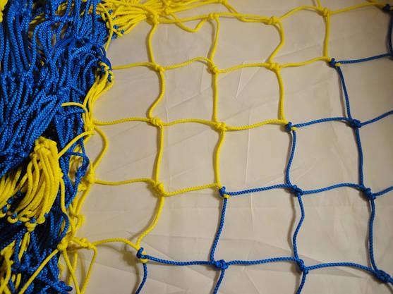 Сетка заградительная D 5,5 мм. Ячейка 7,5 см., оградительная, для спортзалов, стадионов. , фото 3